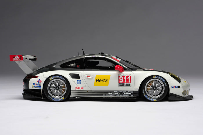 Porsche 911 RSR (2016) | 1:18 Scale Model Car by Amalgam Collection | Right Profile