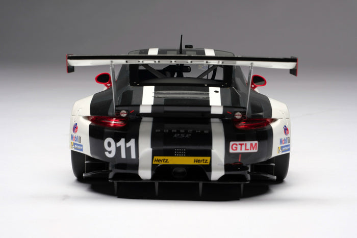 Porsche 911 RSR (2016) | 1:18 Scale Model Car by Amalgam Collection | Rear
