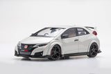 Honda Civic Type R (2015) | 1:18 Scale Diecast Model by Ebbro | Front Quarter