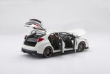 Honda Civic Type R (2015) | 1:18 Scale Diecast Model by Ebbro | Open