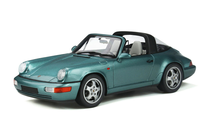 Porsche 964 Carrera 4 Targa | 1:18 Scale Model Car by GT Spirit | Front Quarter