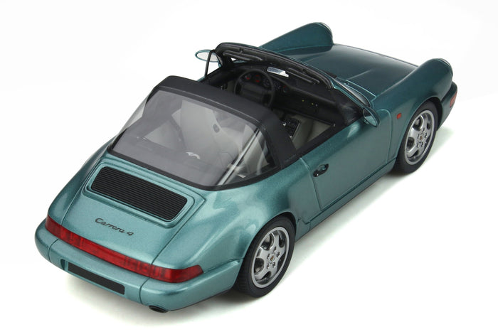 Porsche 964 Carrera 4 Targa | 1:18 Scale Model Car by GT Spirit | Overhead View