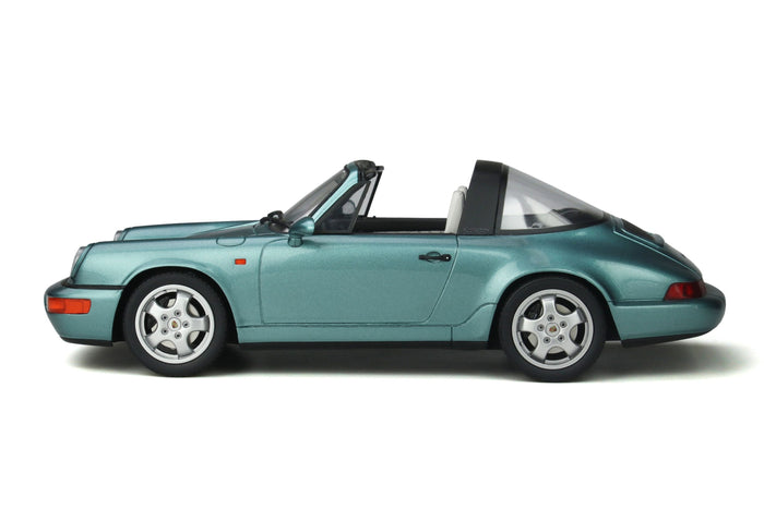 Porsche 964 Carrera 4 Targa | 1:18 Scale Model Car by GT Spirit | Profile