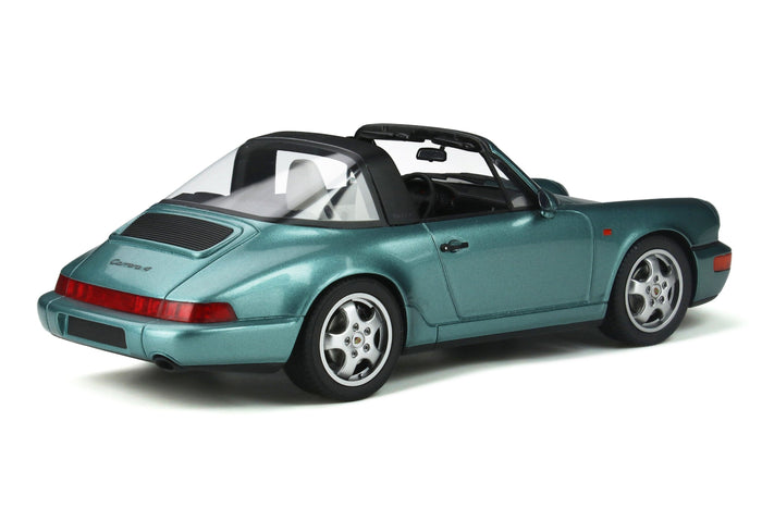 Porsche 964 Carrera 4 Targa | 1:18 Scale Model Car by GT Spirit | Rear Quarter