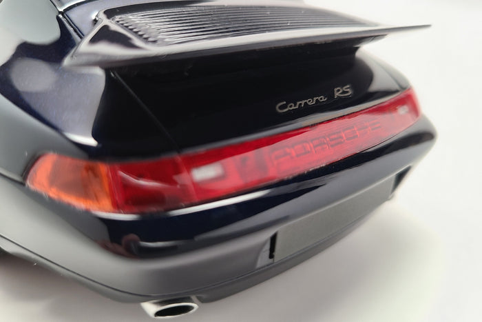 Porsche 993 Carrera RS | 1:18 Scale Model Car by GT Spirit | Rear Badge