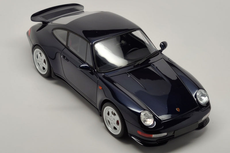 Porsche 993 Carrera RS | 1:18 Scale Model Car by GT Spirit | Overhead View