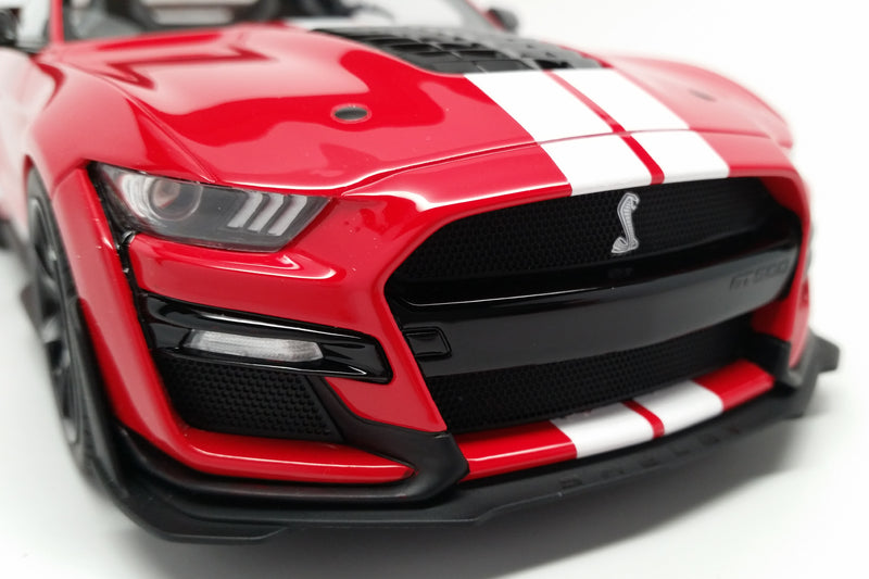 Ford Mustang Shelby GT500 (2020) | 1:18 Scale Model Car by GT Spirit | Front Detail