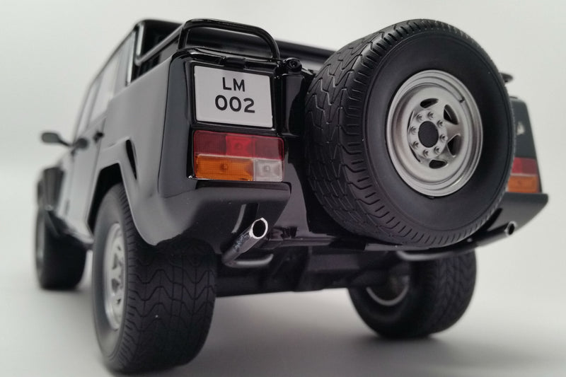 Lamborghini LM002 | 1:18 Scale Model Car by Kyosho | Rear