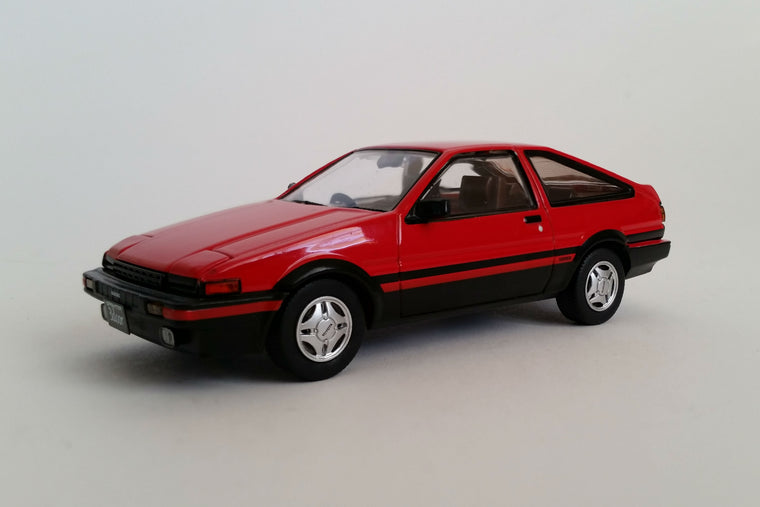 Toyota Sprinter Trueno (AE86) GT Apex - 1:43 Scale Diecast Model Car