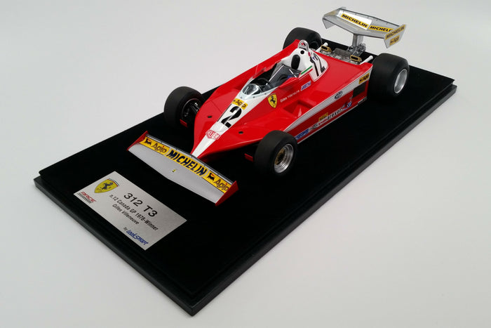 Ferrari 312T3 (1978 Canadian Grand Prix) | 1:18 Scale Model Car by Looksmart | Base