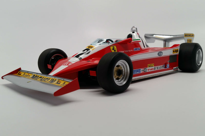 Ferrari 312T3 (1978 Canadian Grand Prix) | 1:18 Scale Model Car by Looksmart | Front Quarter