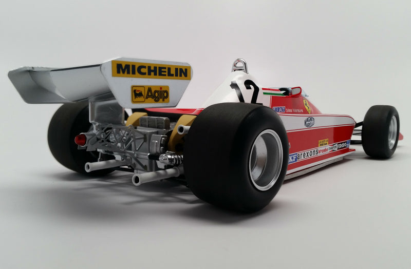 Ferrari 312T3 (1978 Canadian Grand Prix) | 1:18 Scale Model Car by Looksmart | Rear Quarter