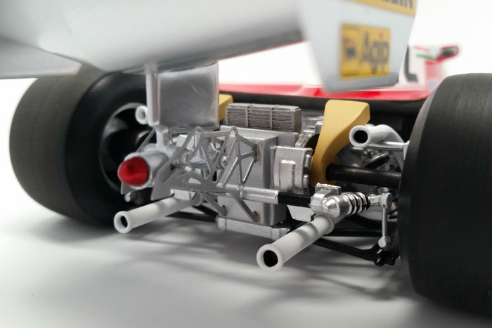 Ferrari 312T3 (1978 Canadian Grand Prix) | 1:18 Scale Model Car by Looksmart | Gearbox