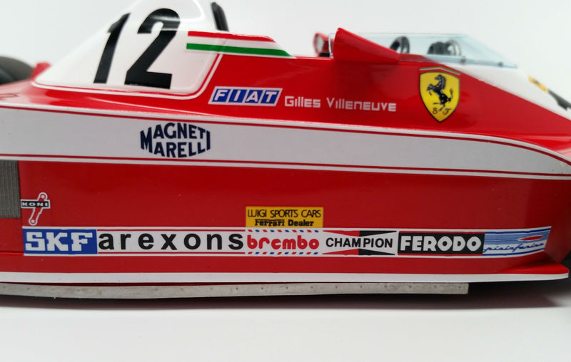 Ferrari 312T3 (1978 Canadian Grand Prix) | 1:18 Scale Model Car by Looksmart | Sponsors