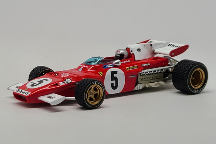 Ferrari 312B2 (1971 German GP - Mario Andretti) - 1:43 Scale Model Car by Looksmart