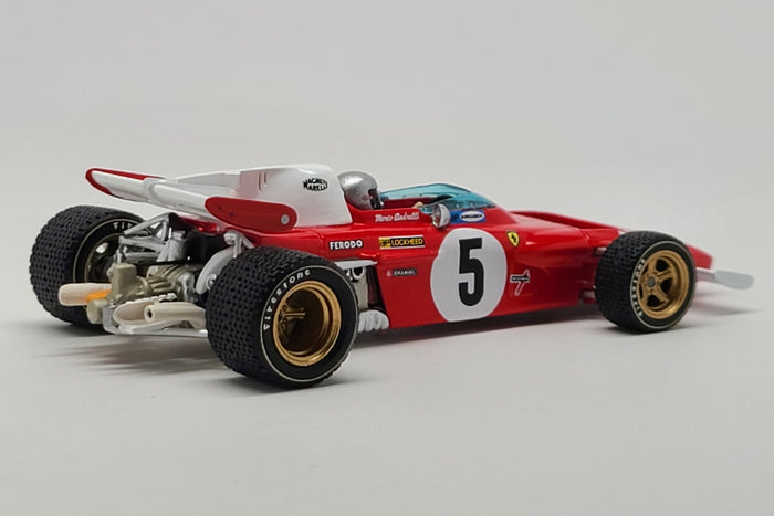 Ferrari 312B2 (1971 German GP - Mario Andretti) - 1:43 Scale Model Car