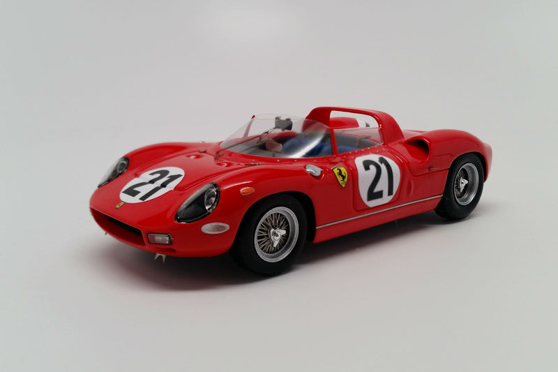 Ferrari 250P (1963 Le Mans Winner) | 1:43 Scale Model Car by Looksmart | Front Quarter