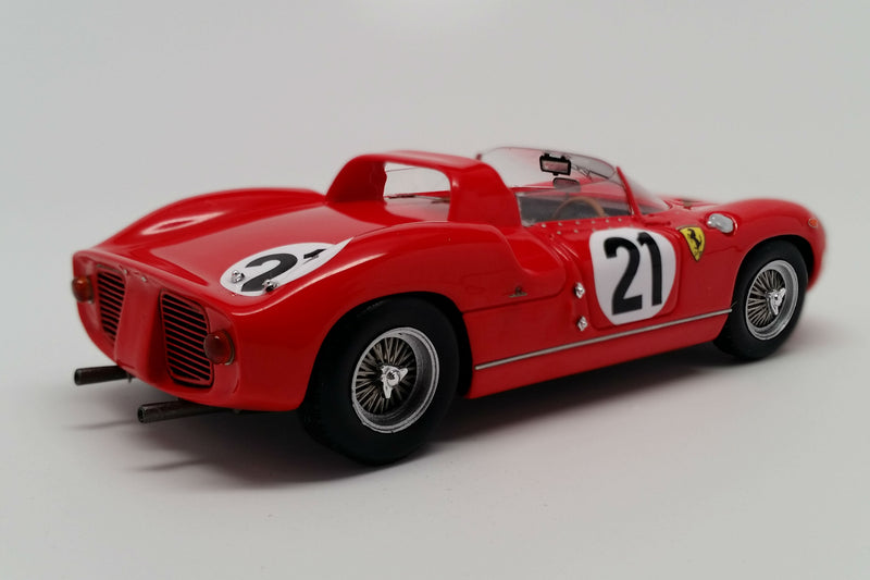Ferrari 250P (1963 Le Mans Winner) | 1:43 Scale Model Car by Looksmart | Rear Quarter