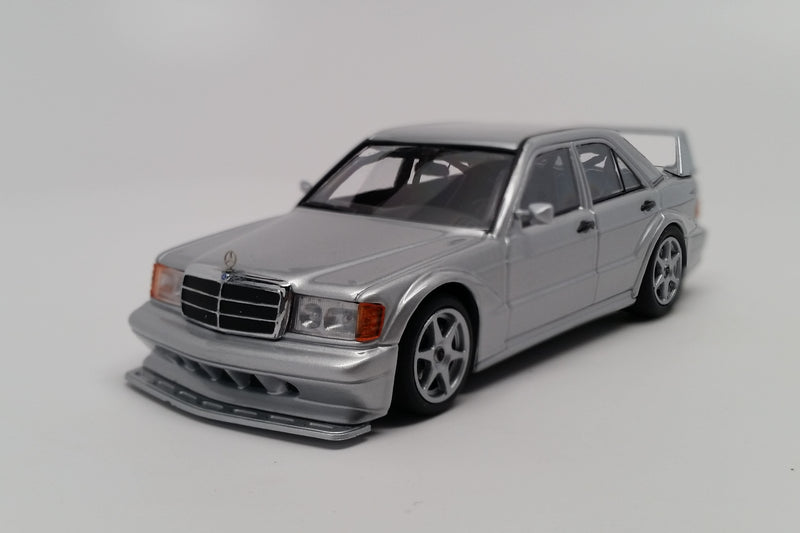 Mercedes-Benz 190E 2.5-16 Evo 2 | 1:43 Scale Diecast Model Car by Maxichamps | Front Quarter