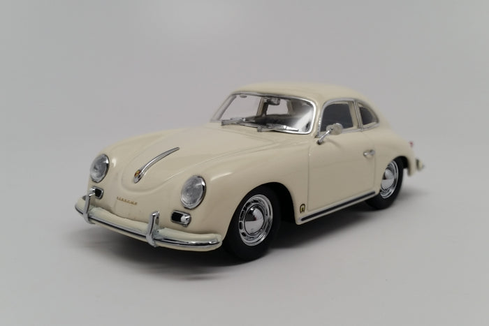 Porsche 356A Coupe (1959) | 1:43 Scale Diecast Model Car by Maxichamps | Front Quarter