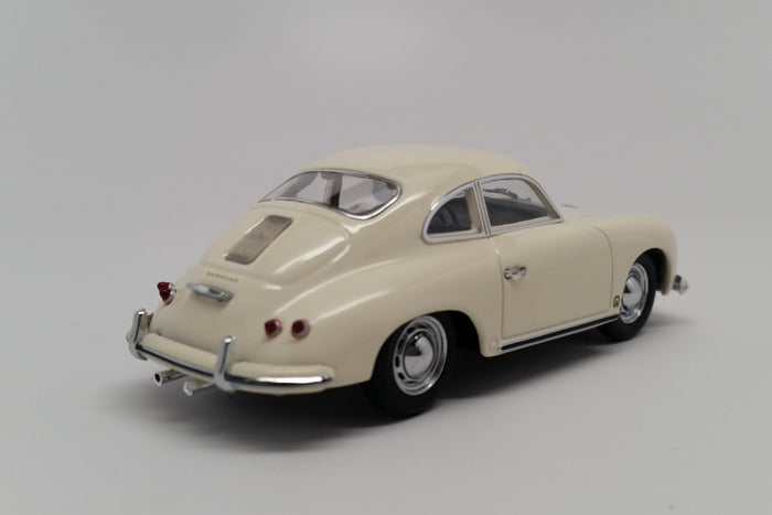 Porsche 356A Coupe (1959) | 1:43 Scale Diecast Model Car by Maxichamps | Rear Quarter