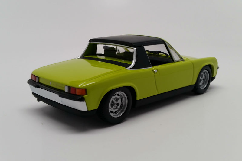 Porsche 914-4 | 1:43 Scale Diecast Model Car by Maxichamps | Rear Quarter