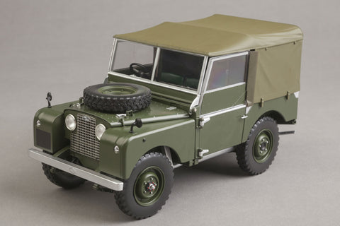 Land Rover Series I (1948) | 1:18 Scale Diecast Model Car by Minichamps | Front Quarter