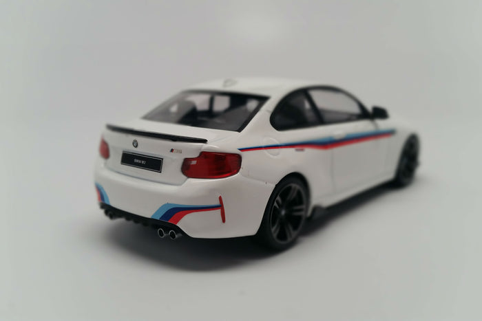 BMW M2 (Presentation Edition) | 1:43 Scale Diecast Model Car by Minichamps | Front Quarter
