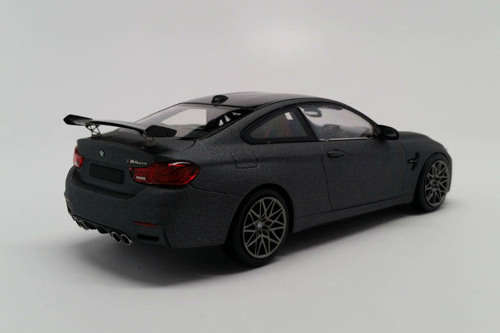 BMW M4 GTS (2016) | 1:43 Scale Diecast Model Car by Minichamps | Rear Quarter