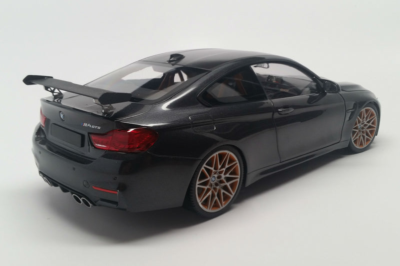BMW M4 GTS (2016) | 1:18 Scale Diecast Model Car by Minichamps | Rear Quarter
