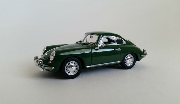 Porsche 356C Coupe | 1:43 Scale Diecast Model by Minichamps | Front Quarter
