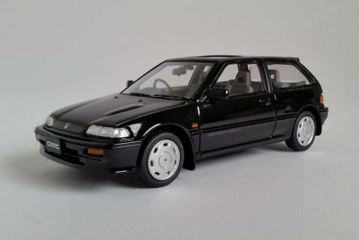 Honda Civic Si (EF3) | 1:43 Scale Model Car by Mark 43 | Black Variant
