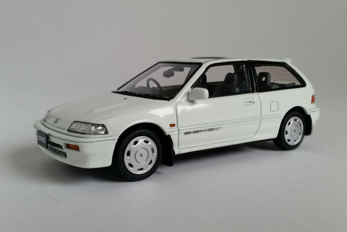 Honda Civic Si (EF3) | 1:43 Scale Model Car by Mark 43 | White Variant