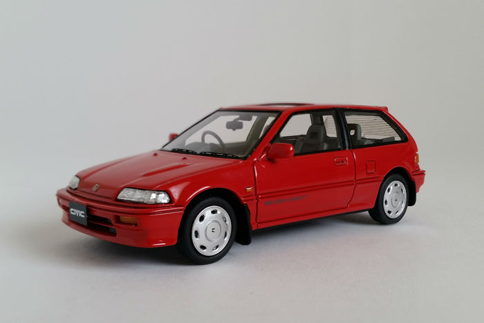 Honda Civic Si (EF3) | 1:43 Scale Model Car by Mark 43 | Front Quarter