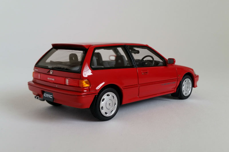 Honda Civic Si (EF3) | 1:43 Scale Model Car by Mark 43 | Rear Quarter