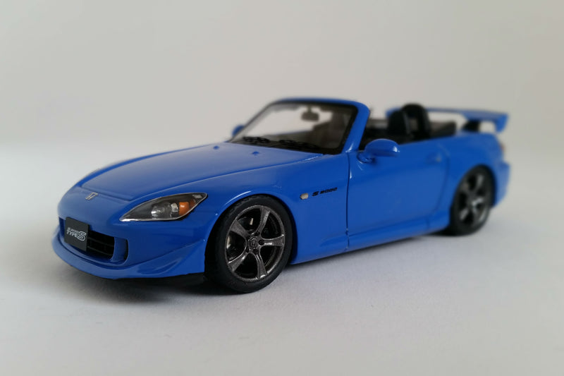 Honda S2000 Type S | 1:43 Scale Model Car by Mark 43 | Front Quarter