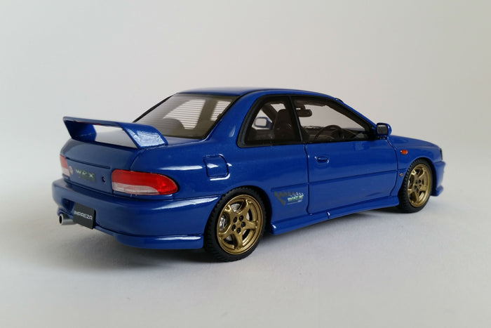 Subaru Impreza WRX Type R STI (1997) | 1:43 Scale Model Car by Mark 43 | Rear Quarter