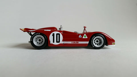 Alfa Romeo T33/3 | 1:43 Scale Diecast Model Car by Minichamps | Profile
