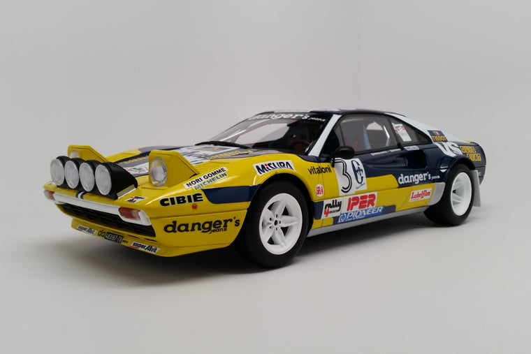 Ferrari 308GTB Group 4 (1981 Rally 4 Regioni) - 1:18 Scale Model Car