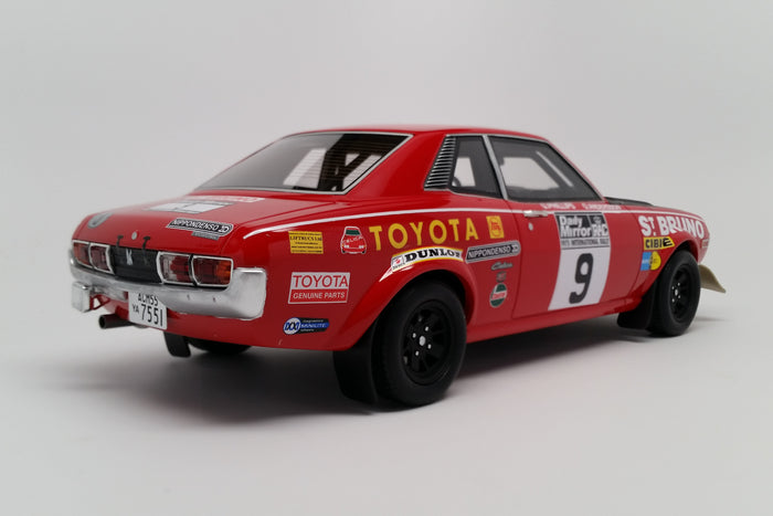 Toyota Celica TA22 RAC Rally 1973 | 1:18 Scale Model Car by Ottomobile | Rear Quarter