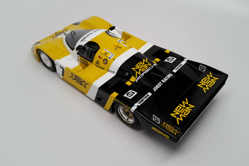 Porsche 956 (1985 Le Mans Winner) | 1:18 Scale Model Car by Spark | Overhead