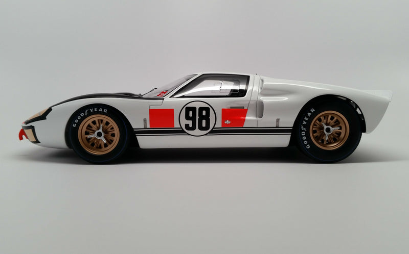 Ford Mk. II (1966 Daytona 24 Hours Winner) | 1:18 Scale Model Car by Spark | Profile