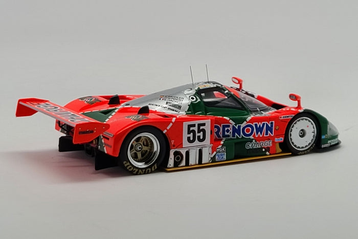 Mazda 787B (1991 Le Mans Winner) | 1:43 Scale Model Car by Spark | Rear Quarter