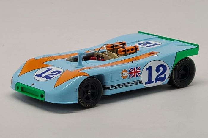 Porsche 908/03 (1970 Targa Florio Winner) | 1:43 Scale Model Car by Spark | Front Quarter
