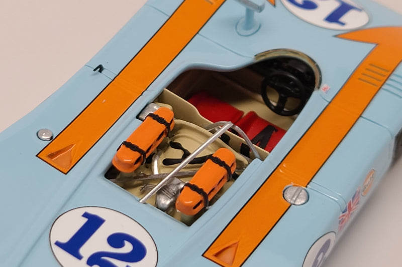 Porsche 908/03 (1970 Targa Florio Winner) | 1:43 Scale Model Car by Spark | Overhead