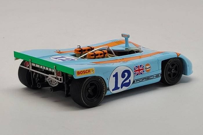 Porsche 908/03 (1970 Targa Florio Winner) | 1:43 Scale Model Car by Spark | Rear Quarter