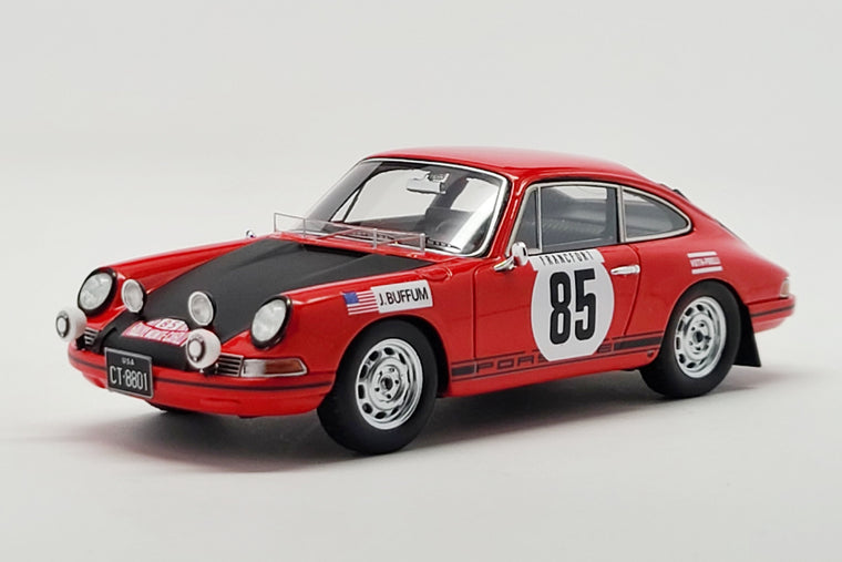 Porsche 911T (John Buffum 1969 Monte Carlo Rally) - 1:43 Scale Model Car by Spark