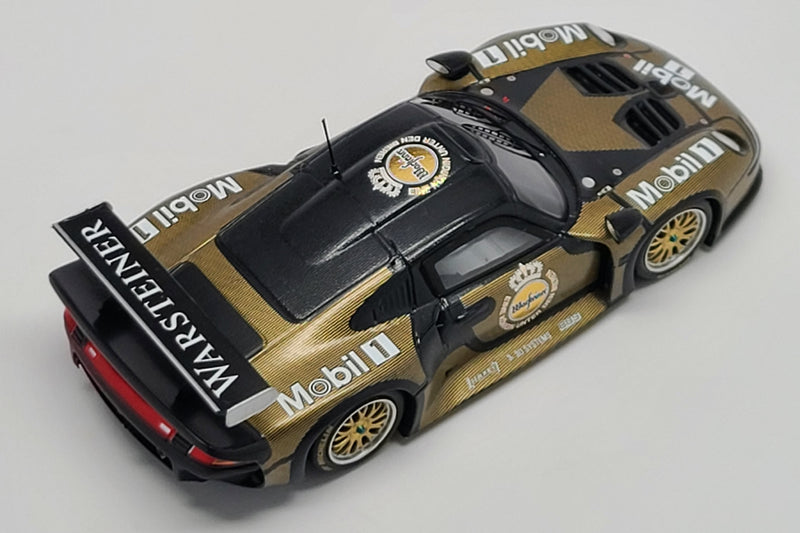 Porsche 911 GT1 Test Car | 1:43 Scale Model Car by Spark | Overhead View