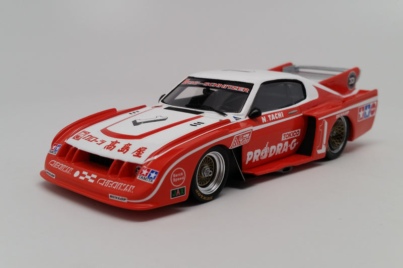 Toyota Celica LB Turbo (1979 Fuji 200 Mile) | 1:43 Scale Model Car by Spark | Front Quarter