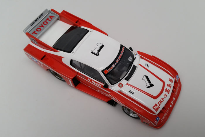 Toyota Celica LB Turbo (1979 Fuji 200 Mile) | 1:43 Scale Model Car by Spark | Overhead